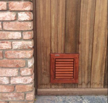 Tomsgates Cat Doors Beautiful Durable Wood