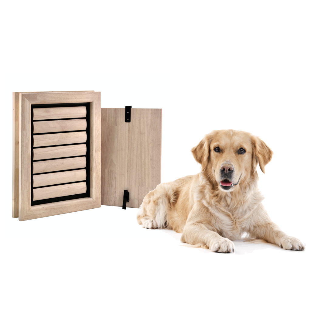 BOUNCER | Large Dog Door | For in a door
