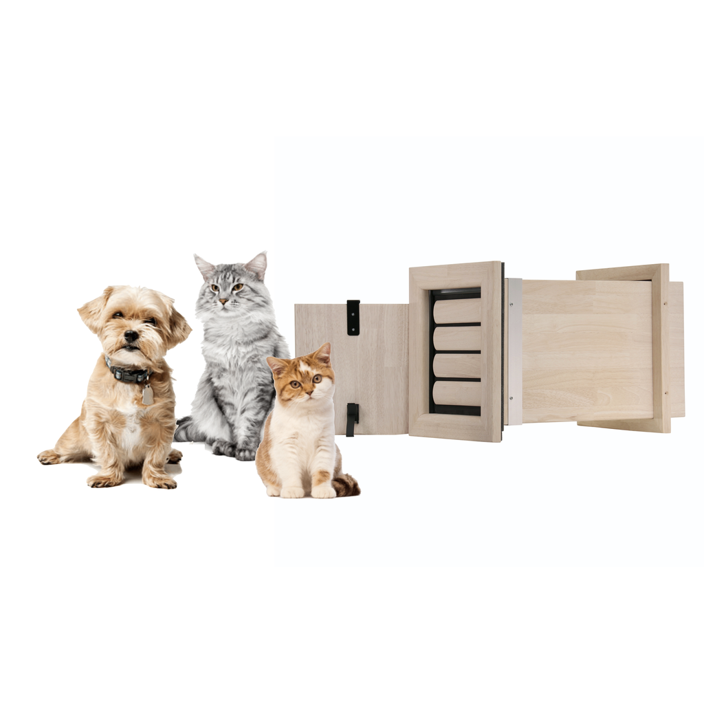 NIPPER | Small Pet Door | For in a wall
